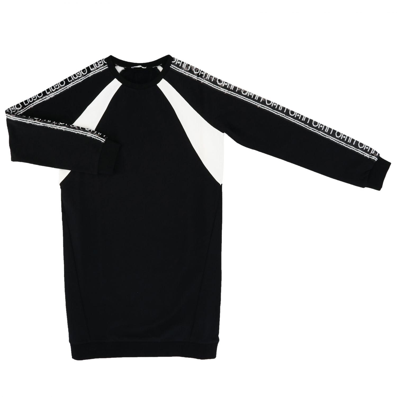Vestido Liu Jo: Vestido niños Liu Jo negro 1