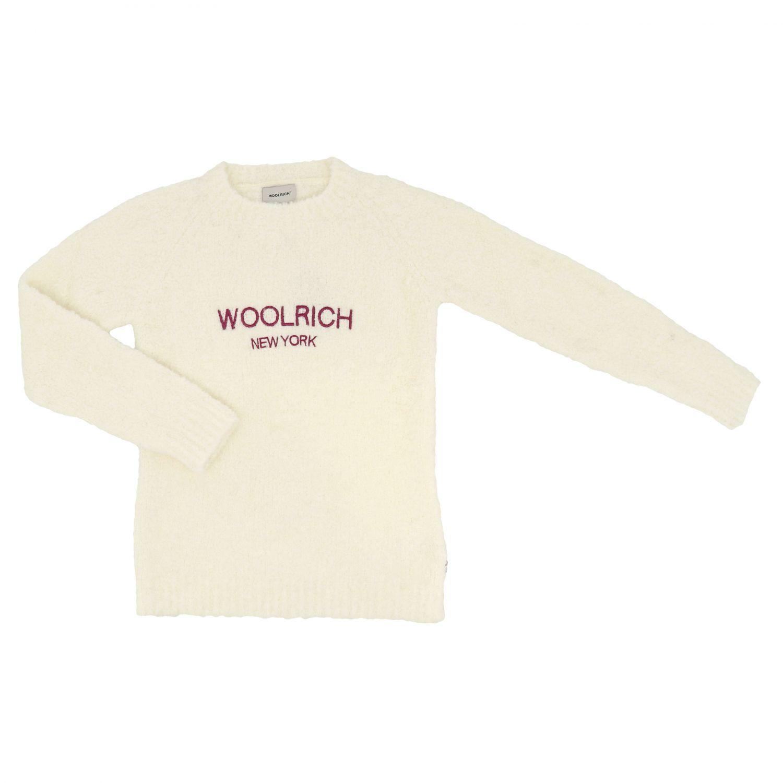 Maglia Woolrich: Maglia bambino Woolrich bianco 1