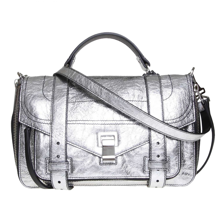 Tote bags women Proenza Schouler silver 1