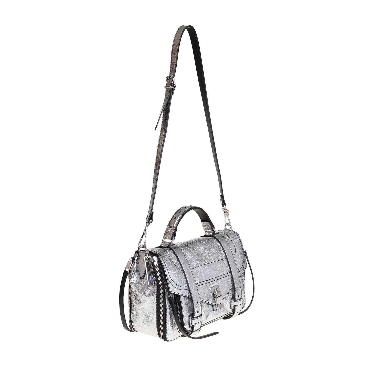 Tote bags women Proenza Schouler silver 2