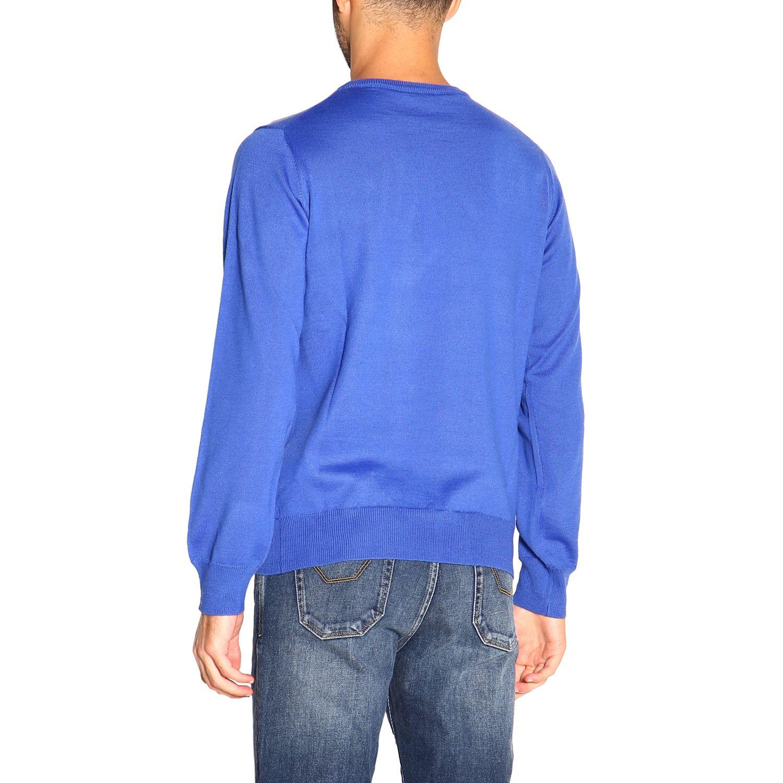 Jumper men K-way gnawed blue 3