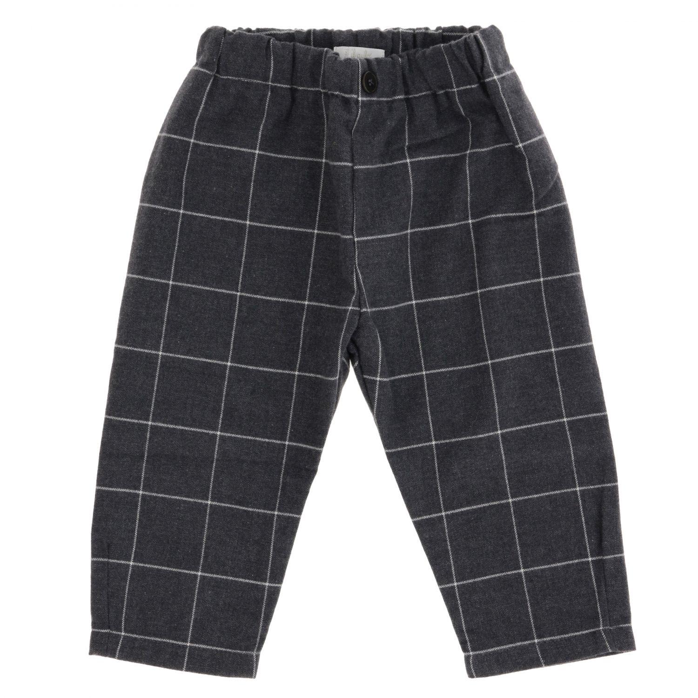 Trousers kids Il Gufo grey 1