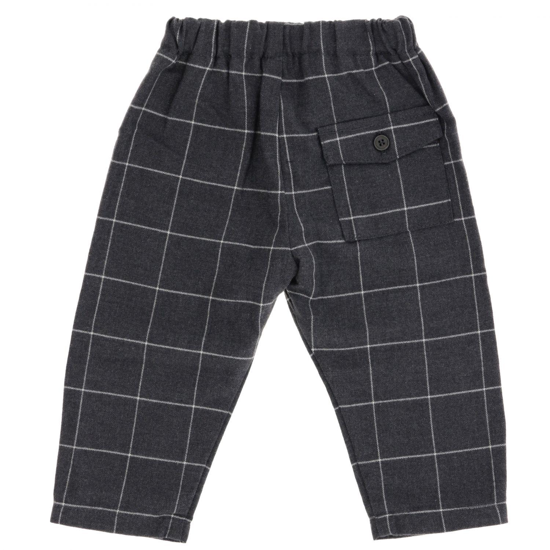Trousers kids Il Gufo grey 2