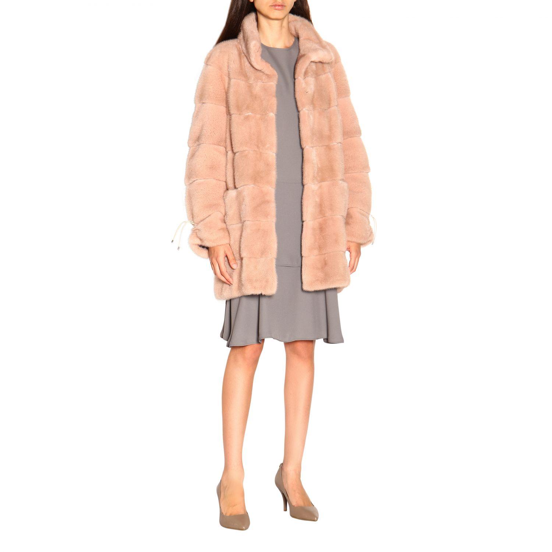 Fur coats women Marester quartz 2