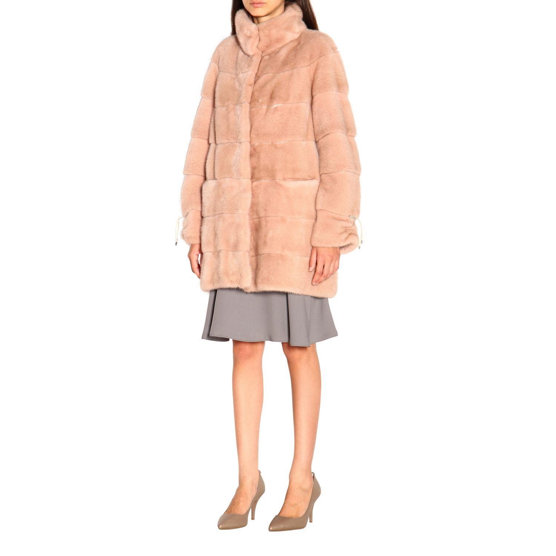 Fur coats women Marester quartz 4
