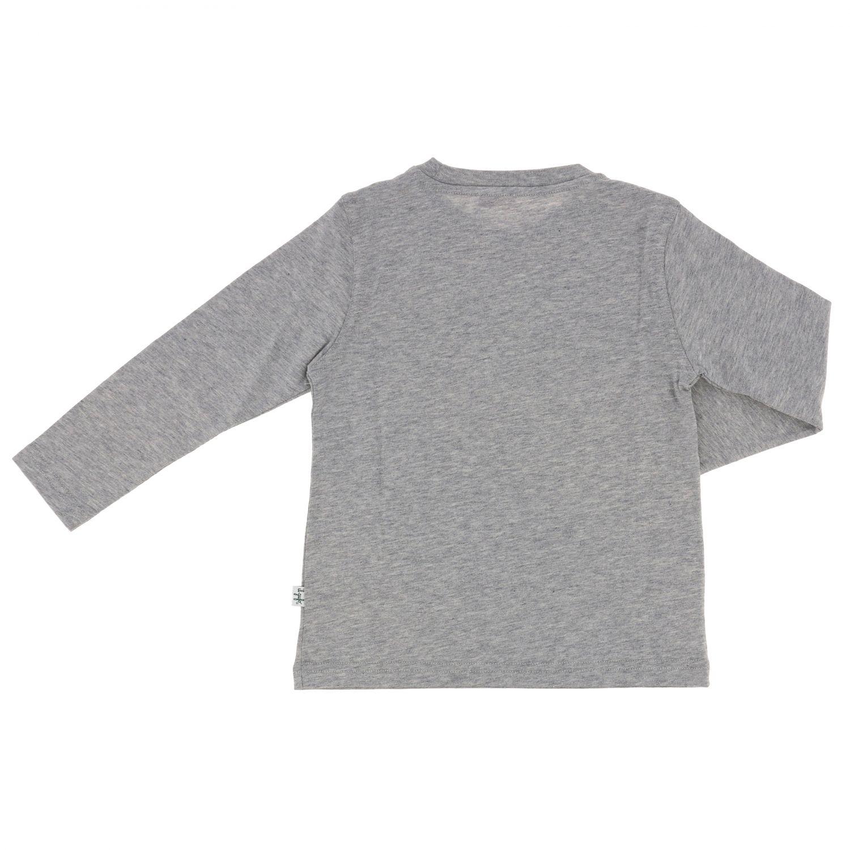 Sweater kids Il Gufo grey 2