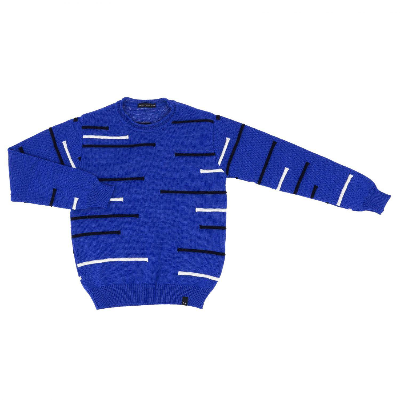 Sweater kids Daniele Alessandrini blue 1