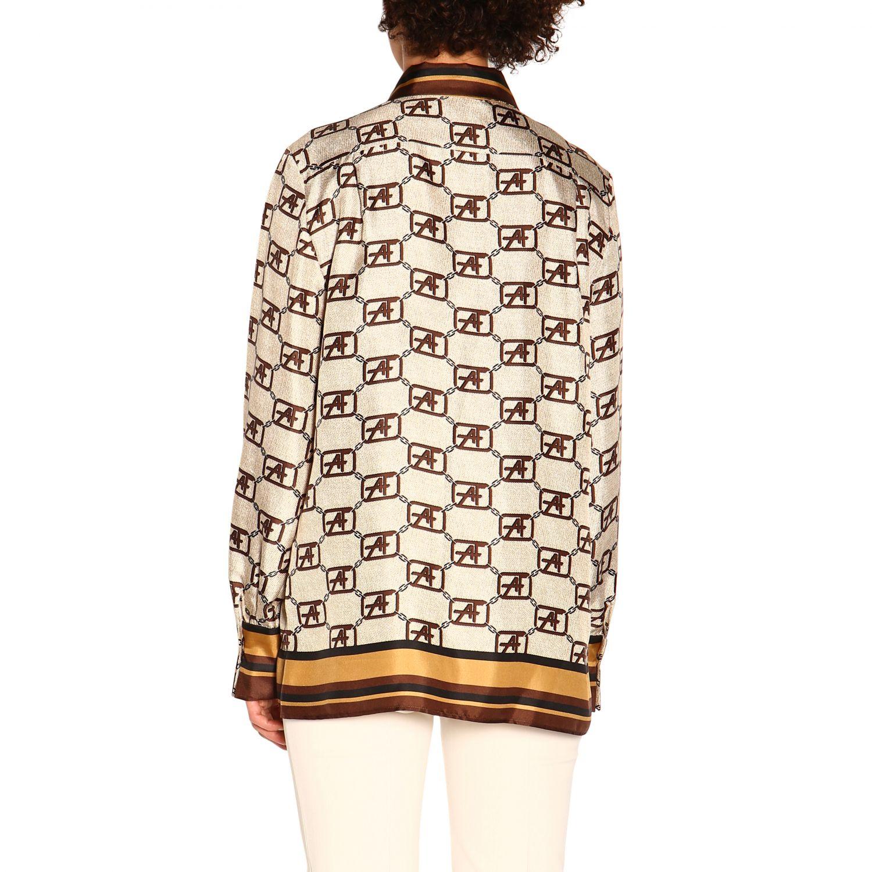 Shirt Alberta Ferretti: Alberta Ferretti shirt with all over monogram ivory 3