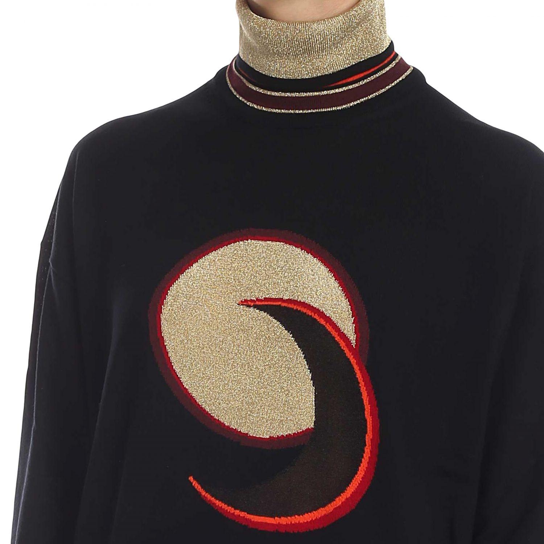 Sweater women Paco Rabanne black 4