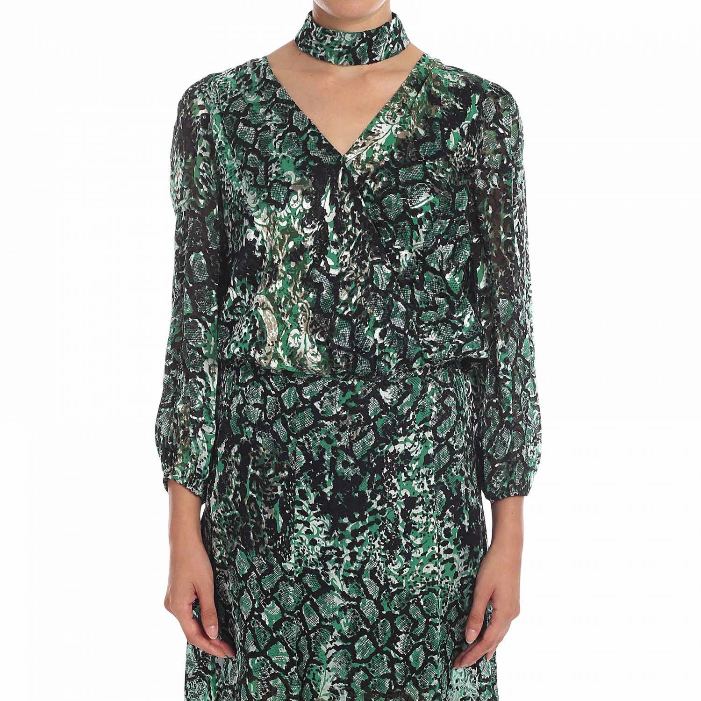 Рубашка Alice+Olivia: Рубашка Женское Alice+olivia зеленый 1