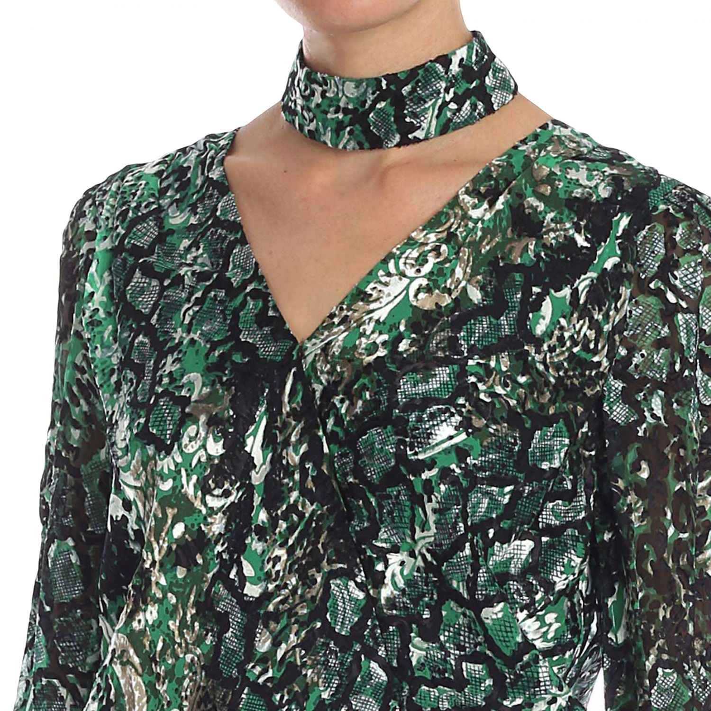 Рубашка Alice+Olivia: Рубашка Женское Alice+olivia зеленый 4