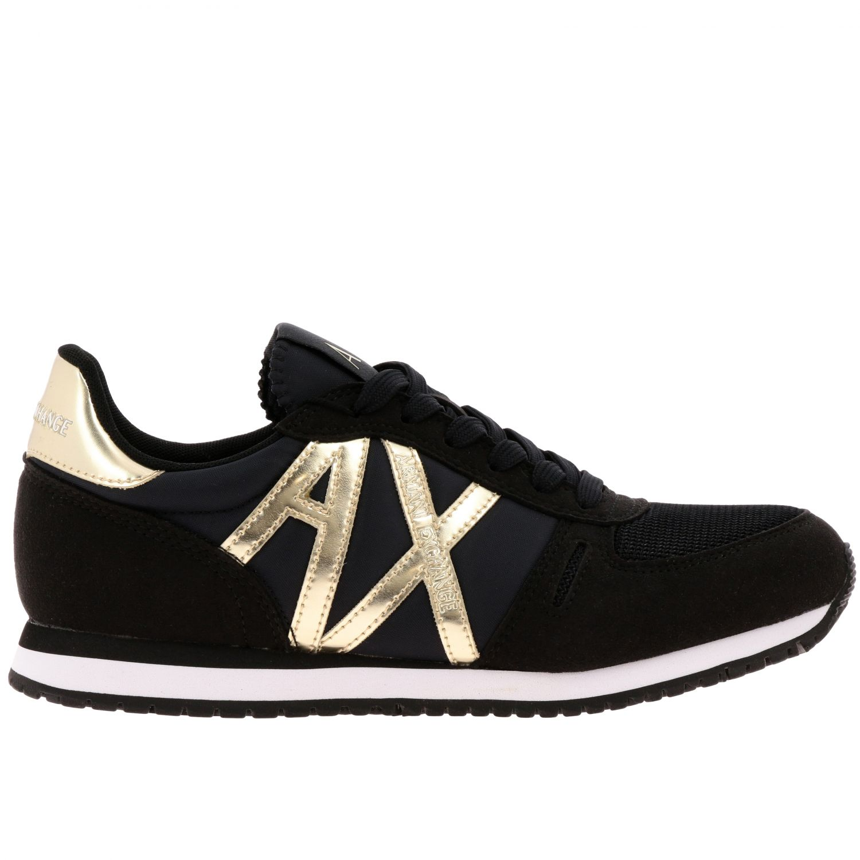 Sneakers Armani Exchange: Sneakers donna Armani Exchange nero 1