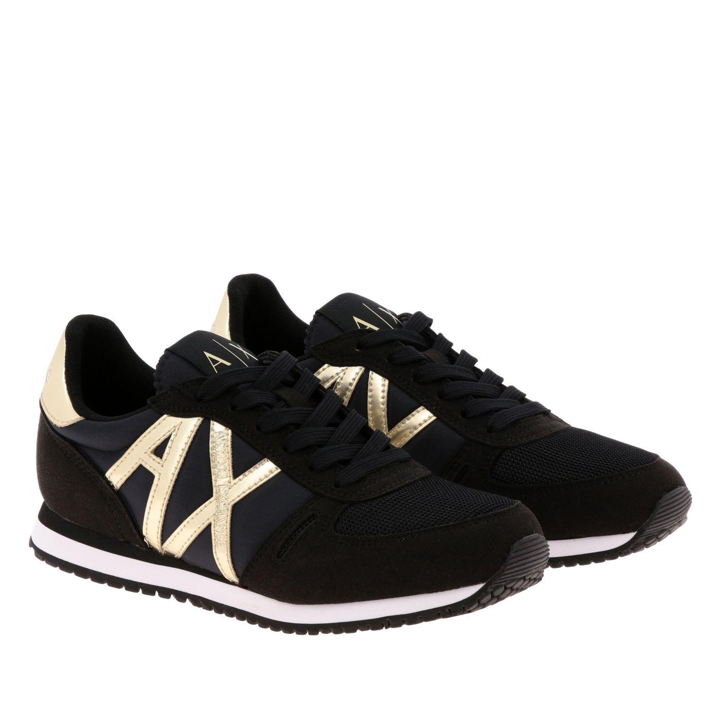 Sneakers Armani Exchange: Sneakers donna Armani Exchange nero 2