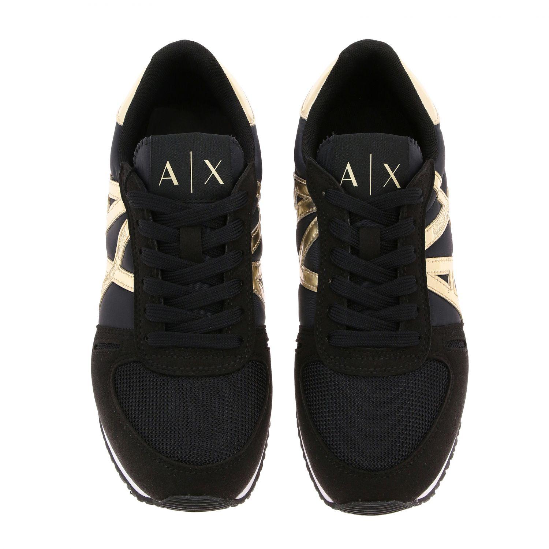 Sneakers Armani Exchange: Sneakers donna Armani Exchange nero 3