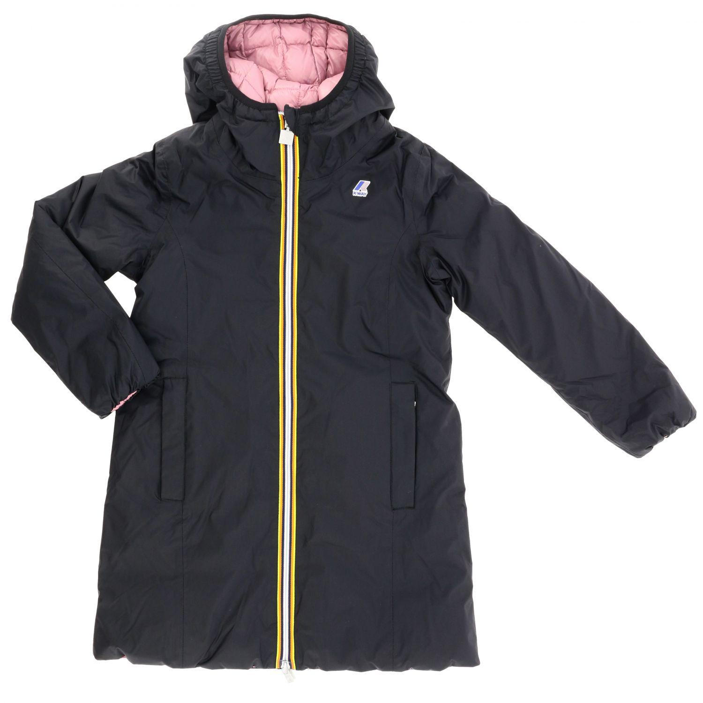 Jacket kids K-way black 1