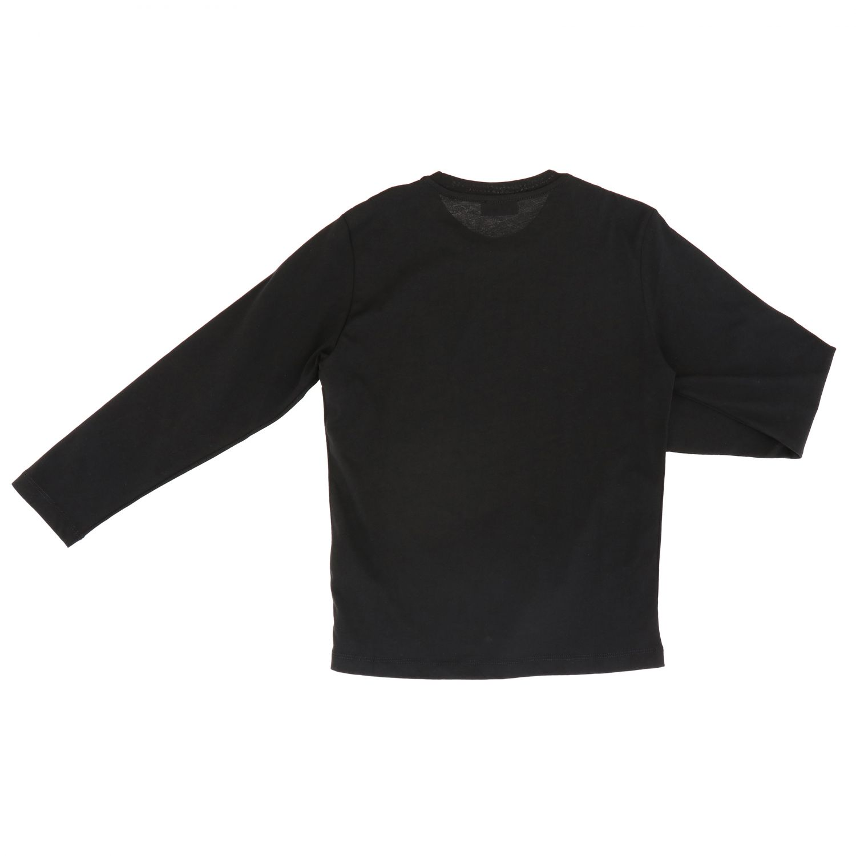 T-shirt enfant Diesel noir 2