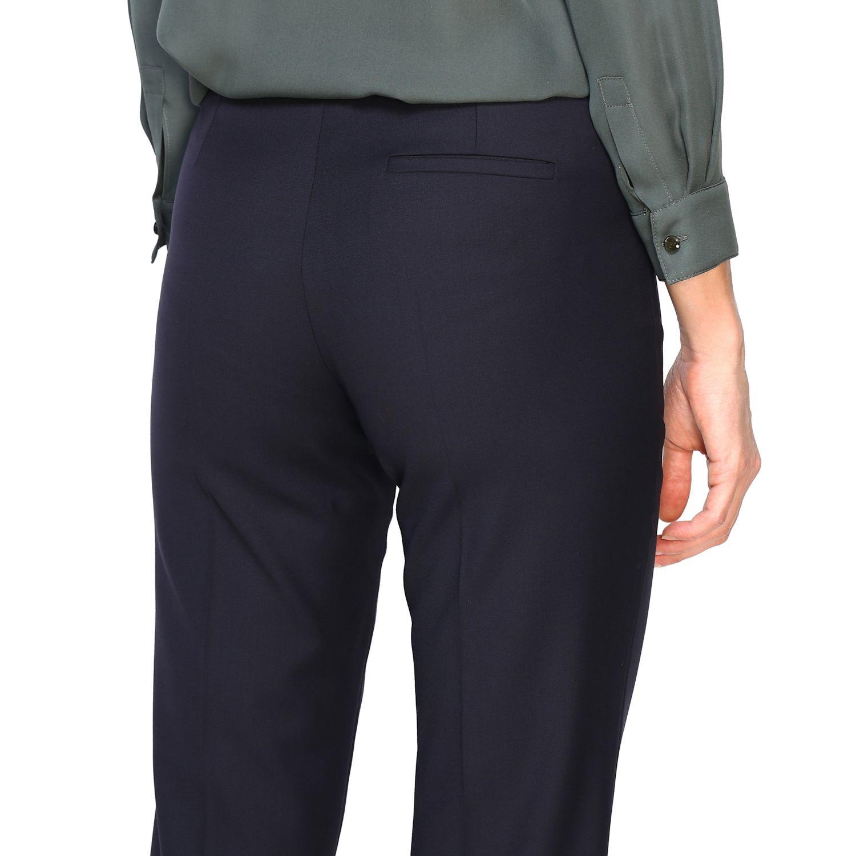 Pantalone donna Emporio Armani blue navy 5