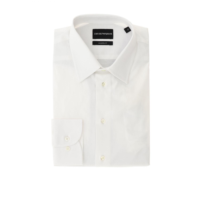 Shirt Emporio Armani: Shirt men Emporio Armani white 1