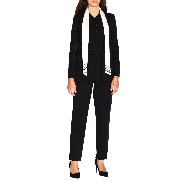 Pantalone donna Emporio Armani nero 2