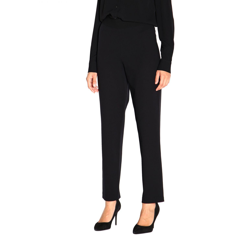 Pantalone donna Emporio Armani nero 4