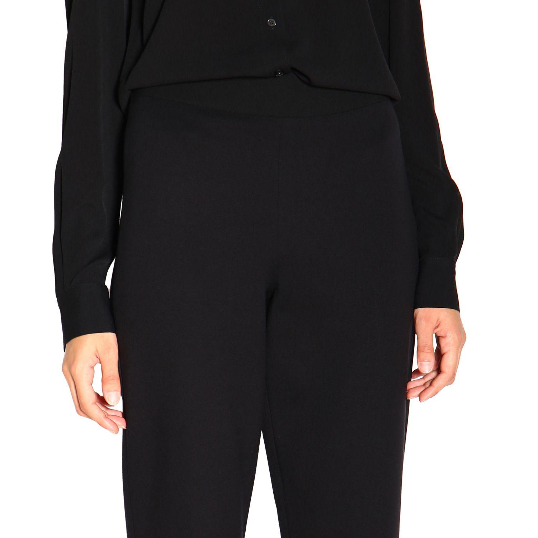 Pantalone donna Emporio Armani nero 5