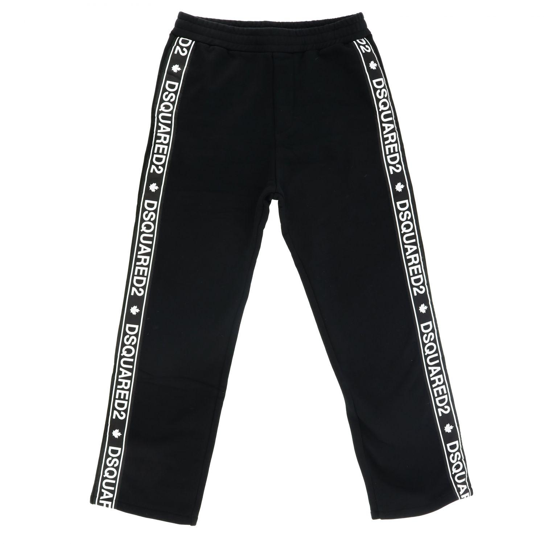 Pants kids Dsquared2 Junior black 1