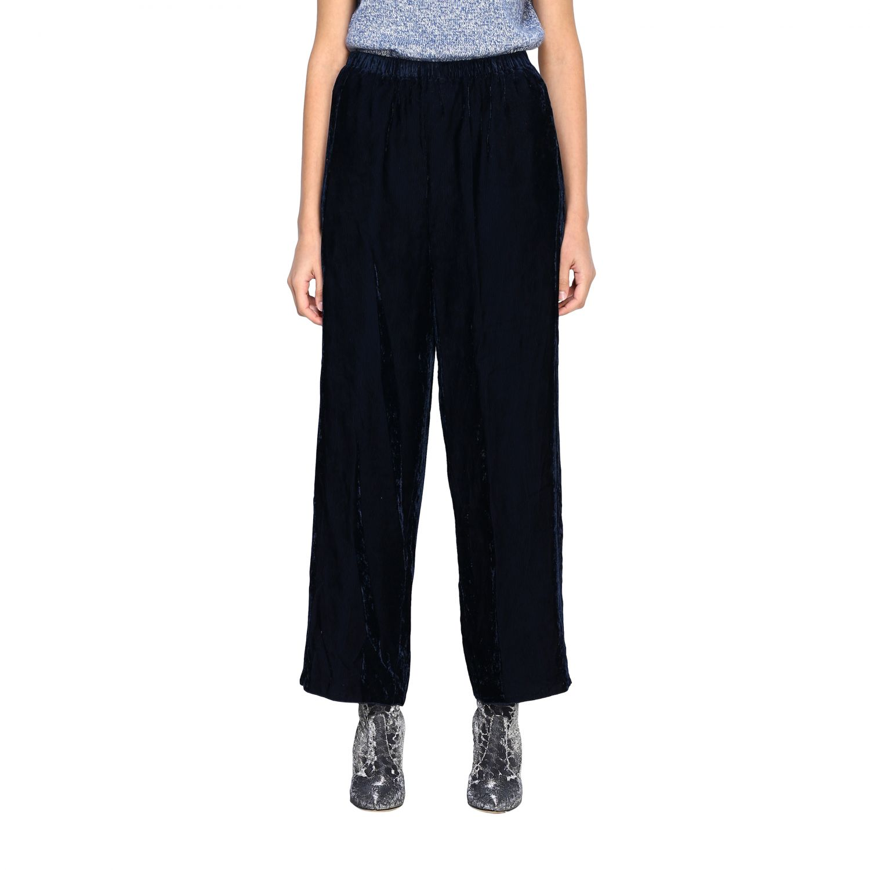 Pantalon femme Forte Forte gris 1