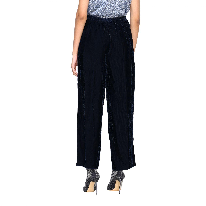 Pantalon femme Forte Forte gris 3