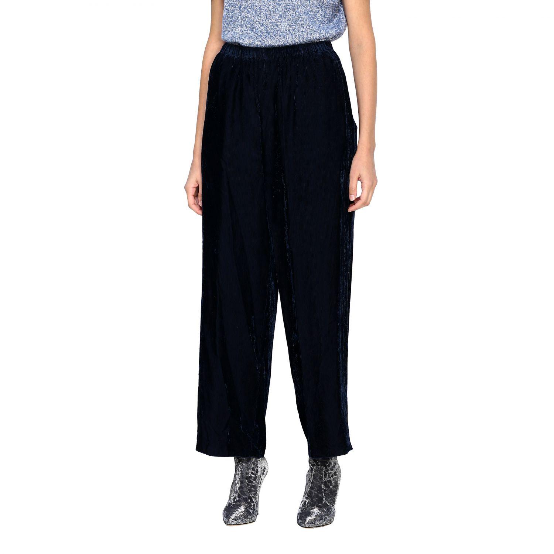 Pantalon femme Forte Forte gris 4