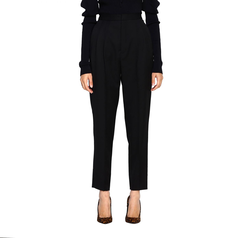 Pantalone donna Saint Laurent nero 1