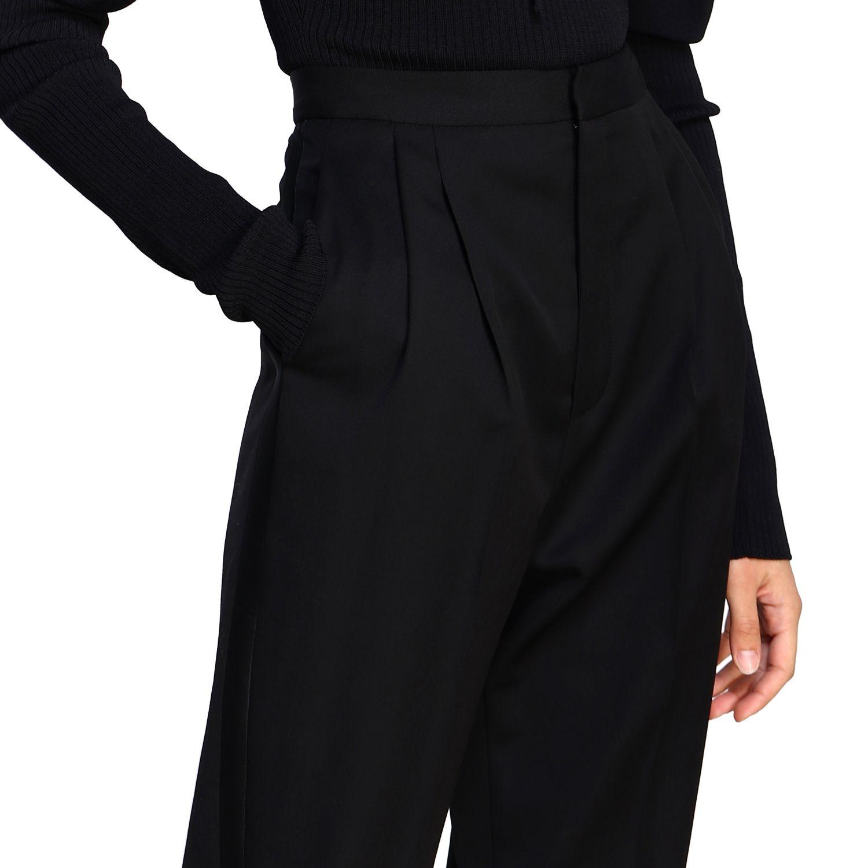 Pantalone donna Saint Laurent nero 5