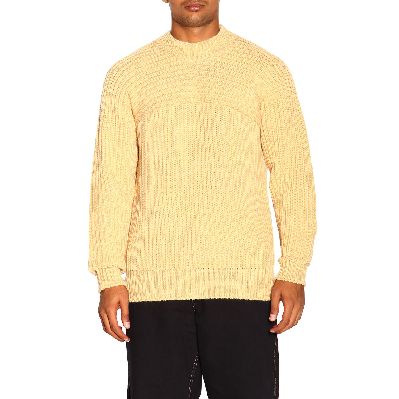 Pull homme Jacquemus jaune 1