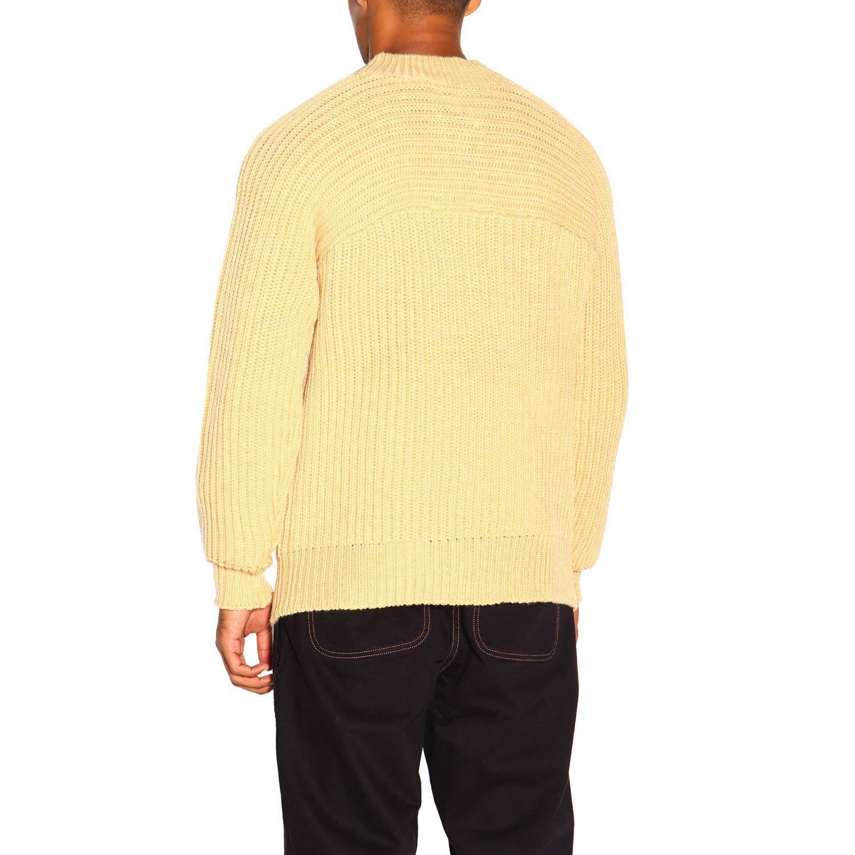 Pull homme Jacquemus jaune 3