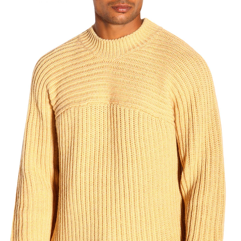 Pull homme Jacquemus jaune 5