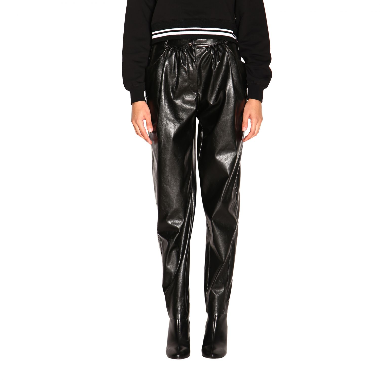 Pantalone donna Msgm nero 1