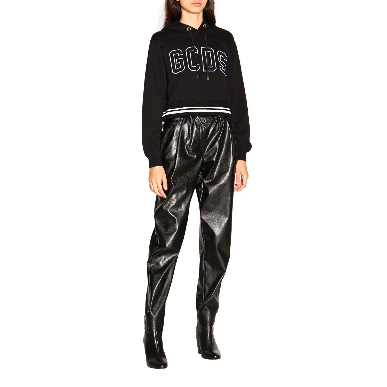 Pantalone donna Msgm nero 2