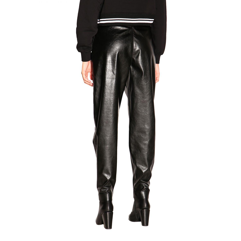 Pantalone donna Msgm nero 3