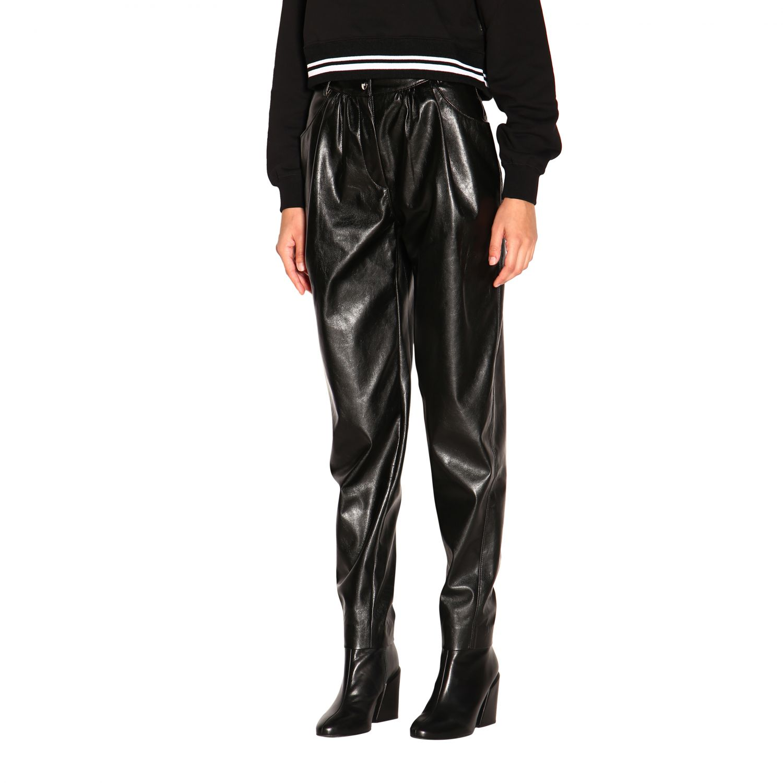 Pantalone donna Msgm nero 4