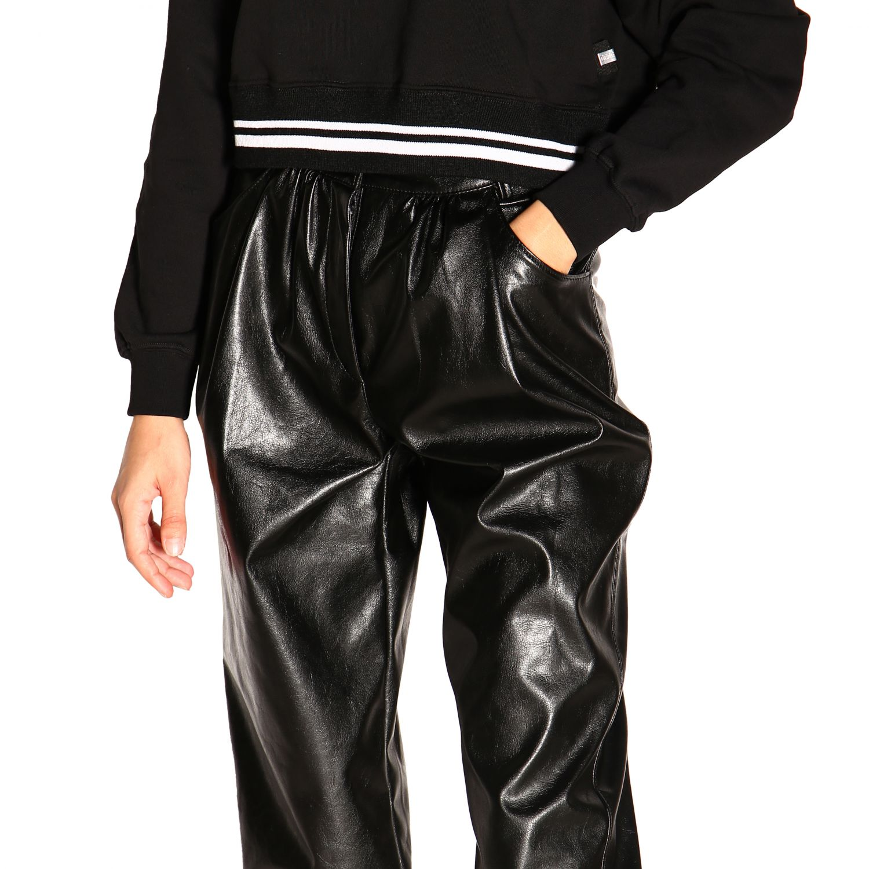 Pantalone donna Msgm nero 5