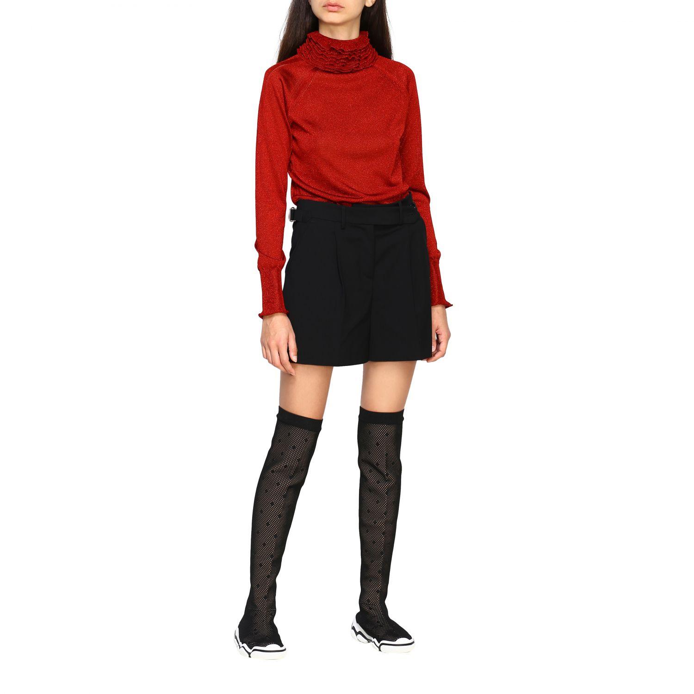 Short women Red Valentino black 2