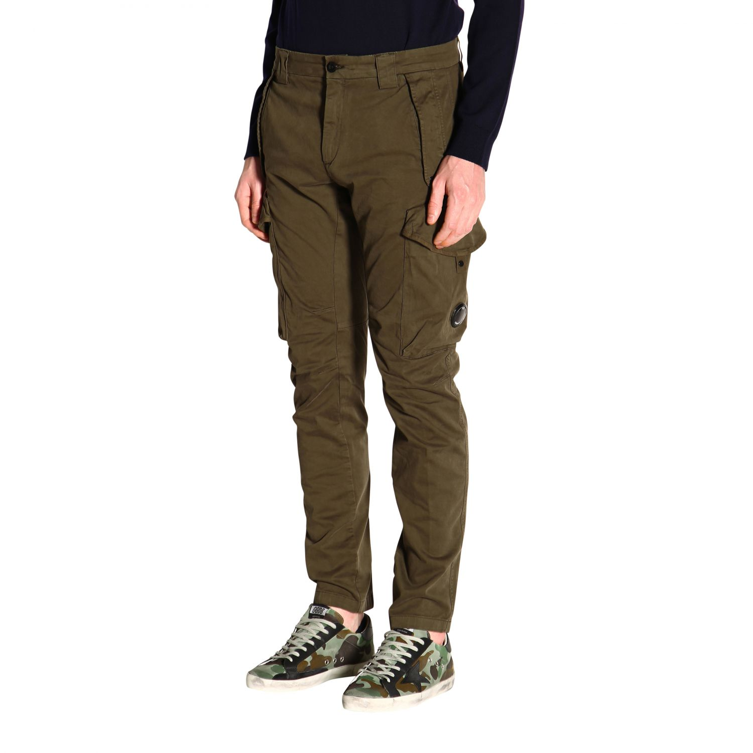 Trousers men C.p. Company green 3