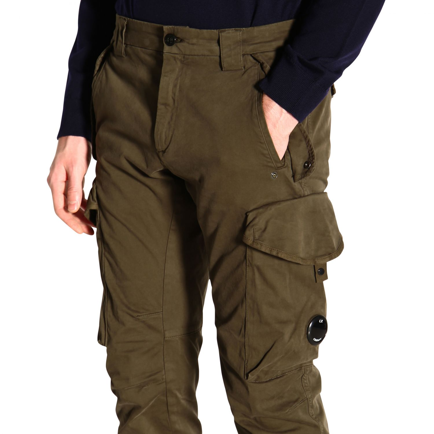 Trousers men C.p. Company green 4