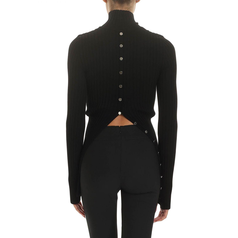 Sweater women Paco Rabanne black 2