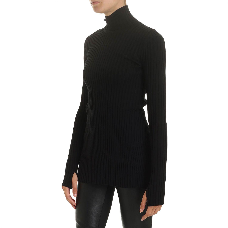 Sweater women Paco Rabanne black 3