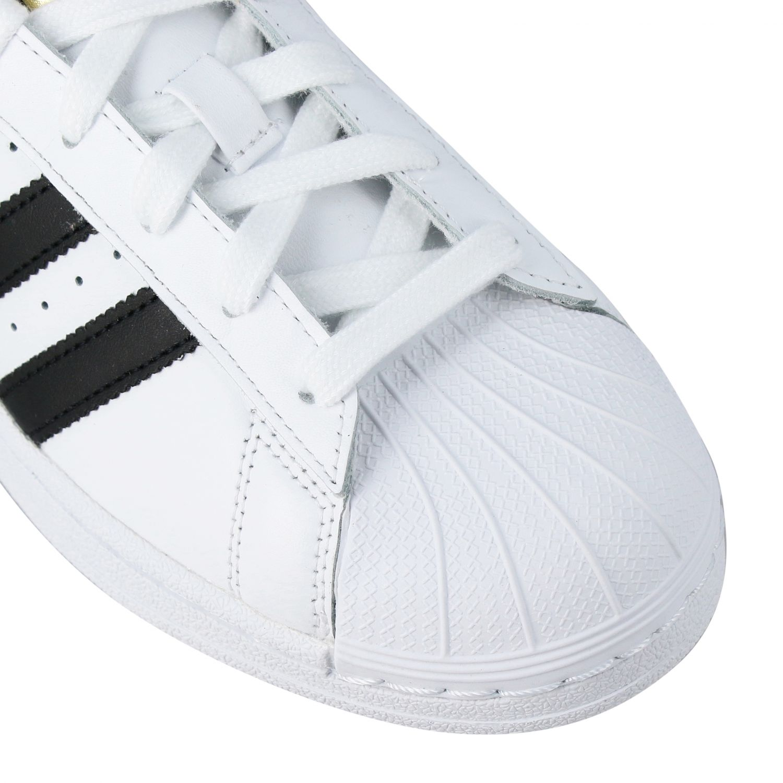 Zapatos Adidas Originals: Zapatos niños Adidas Originals blanco 4