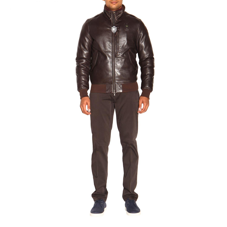 Cappotto uomo Blauer marrone 1