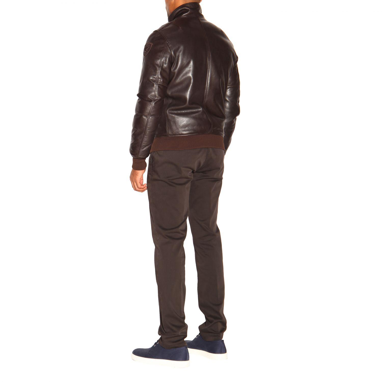 Cappotto uomo Blauer marrone 3