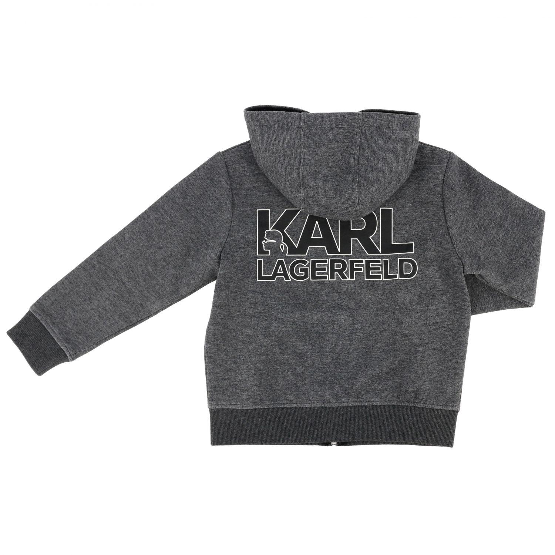 毛衣 儿童 Karl Lagerfeld Kids 灰色 2