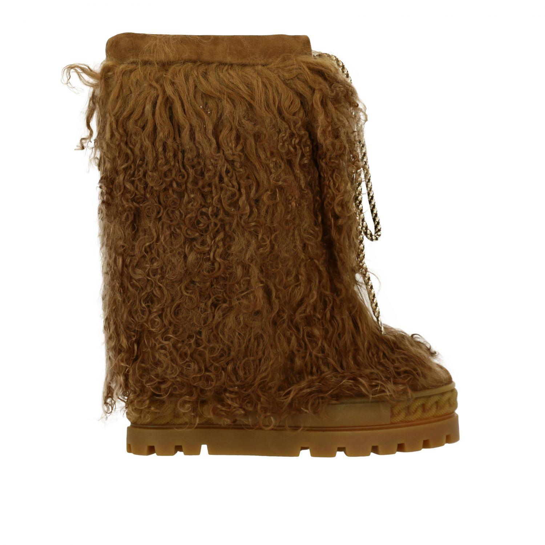 Boots women Casadei brown 1