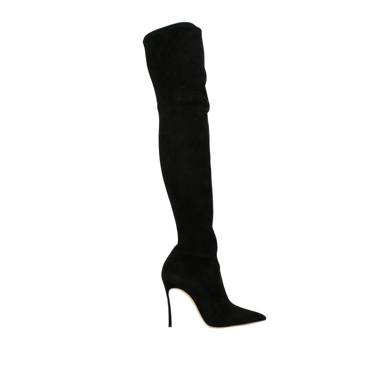 Boots women Casadei black 1